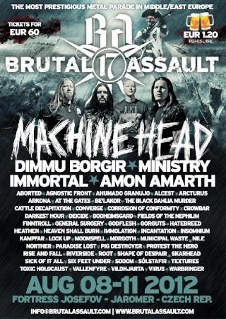 Brutal Assault - Jaroměř (Czech Republic) August 10 - 2012 58312