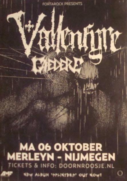 Nijmegen - Merleyn (Holland) October 06 - 2014 Affich10