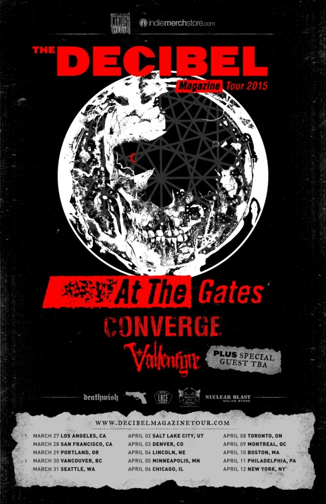 Vallenfyre/Converge/At the gates  U.S Tour Attheg10