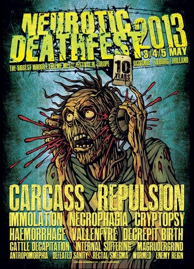 Neurotic Deathfest - 013 Tilburg (Holland) May 04 - 2013 Neu10