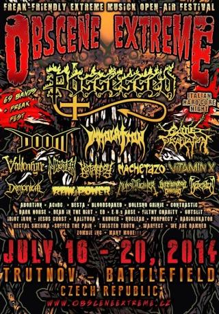 Obscene E.F - Trutnov (Czech Republic) July 19 - 2014 Obscen13