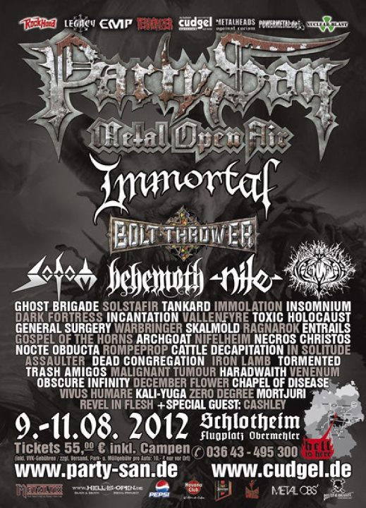 Party San - Schlotheim (Germany) August 09 - 2012 Partys10