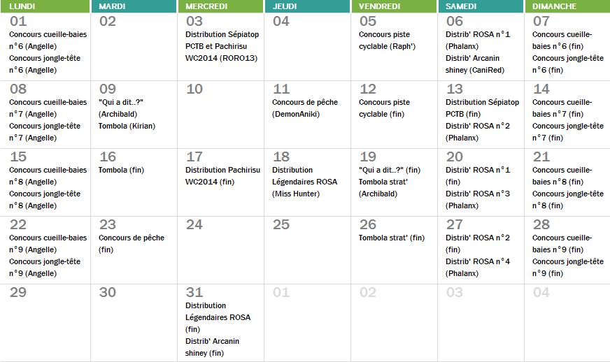 Planning du mois de Décembre Captur12