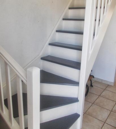 Escalier repeint et montée d'escalier relooke Captur16