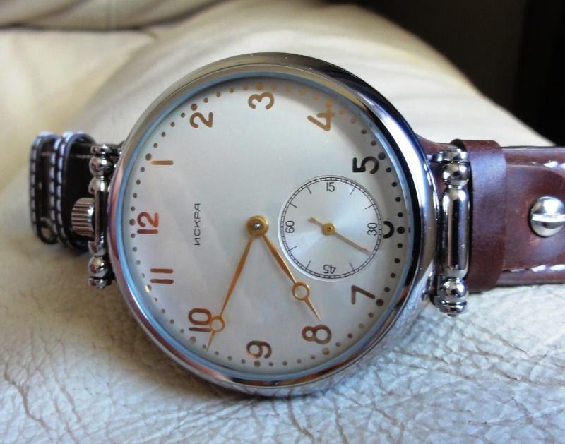 montre a gousset Iskra210