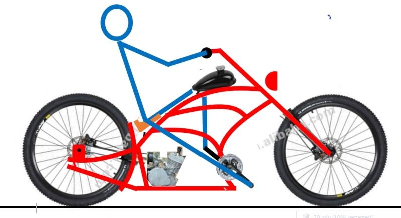 Vélos by léo : velos chopper motorisés Velo_310