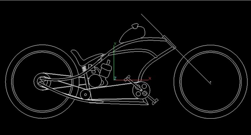 Vélos by léo : velos chopper motorisés Velo_p10