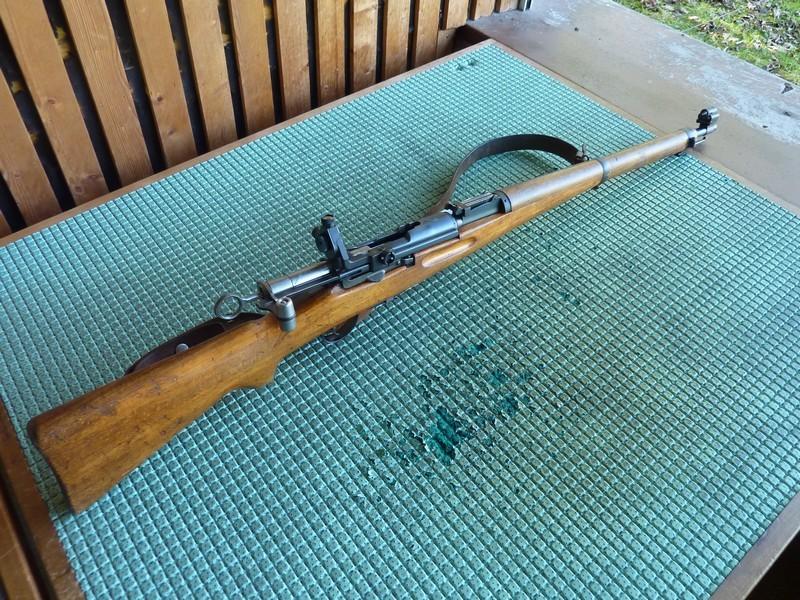 Un K31 en Lienhard 22lr  transformé sur K31 Sniper P1050712