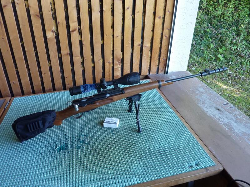 Un K31 en Lienhard 22lr  transformé sur K31 Sniper P1050714