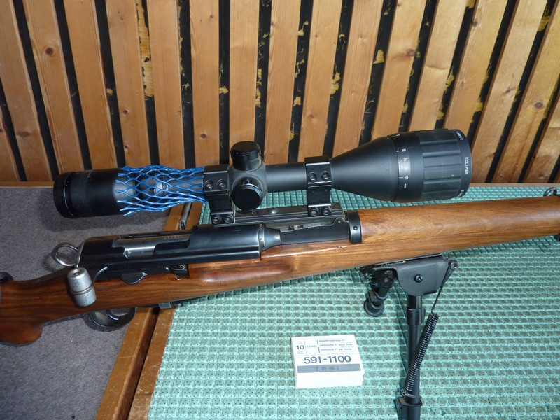 Un K31 en Lienhard 22lr  transformé sur K31 Sniper P1050810