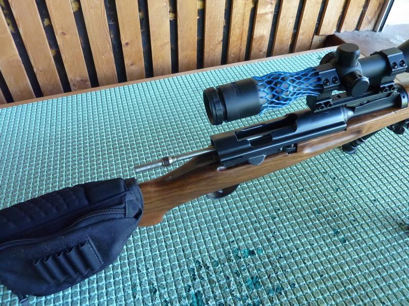 Un K31 en Lienhard 22lr  transformé sur K31 Sniper P1050812