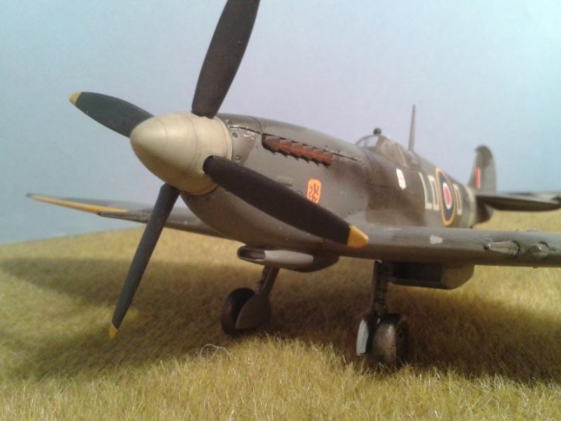 SPITFIRE Mk IX - Pierre CLOSTERMAN- 1945 2014-117