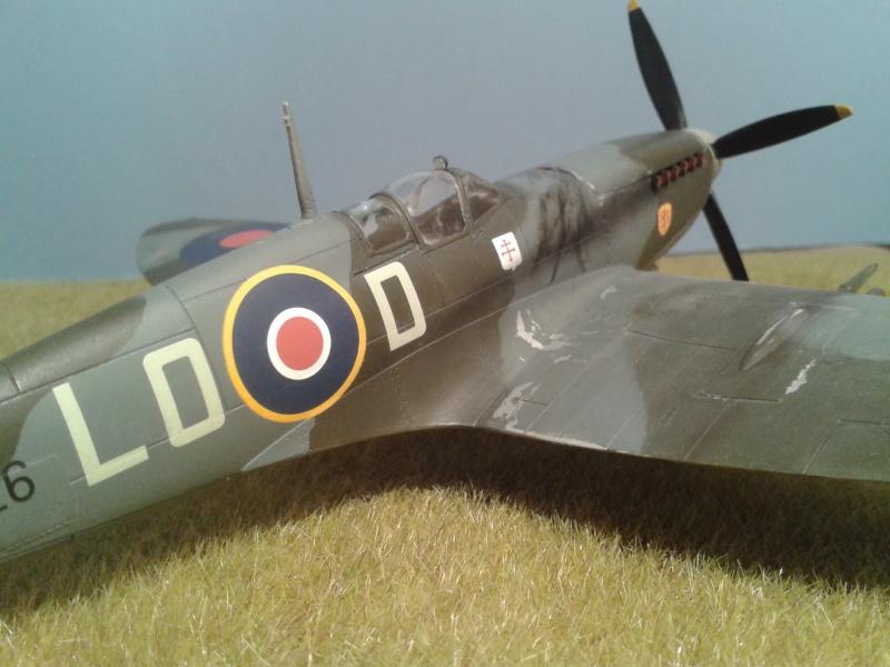 SPITFIRE Mk IX - Pierre CLOSTERMAN- 1945 2014-119