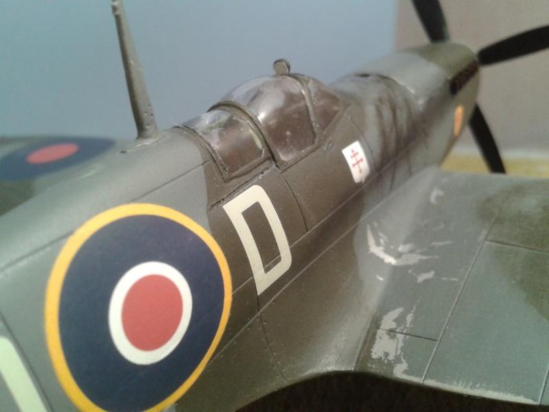SPITFIRE Mk IX - Pierre CLOSTERMAN- 1945 2014-121
