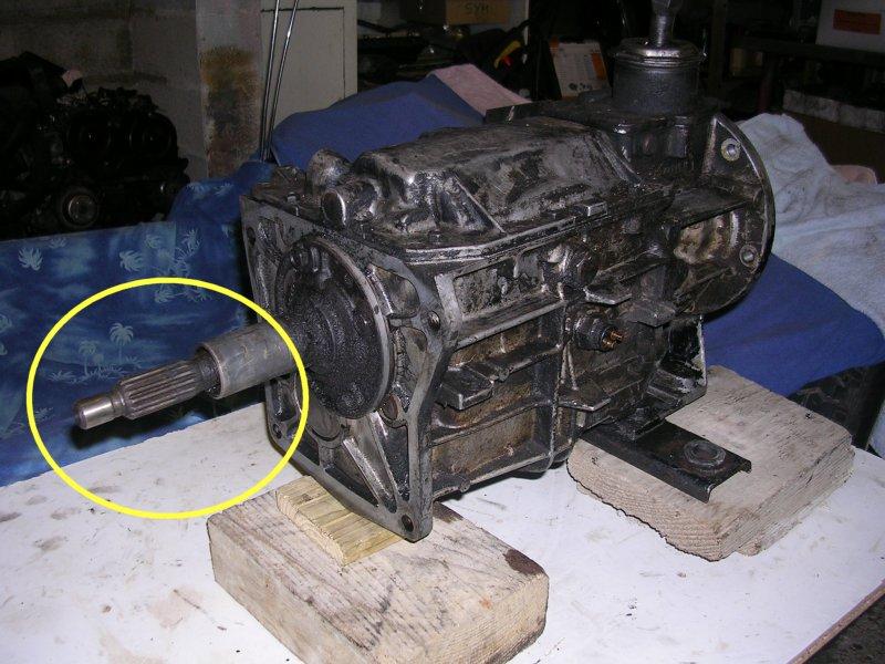 KIT EMBRAYAGE CJ7 2.1L Diesel...ZE SOLUTION! Dscn4210