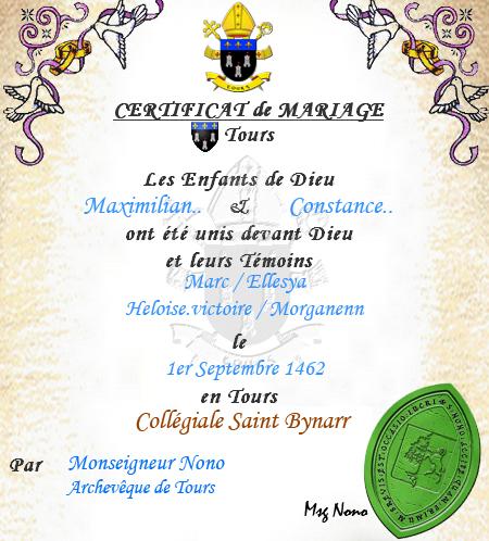Registre des sacrements Maximi11