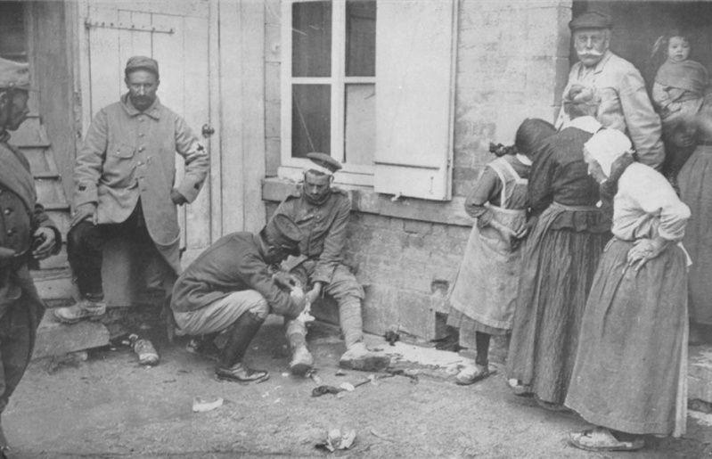 342 photos inédites de la Grande guerre !!! G110