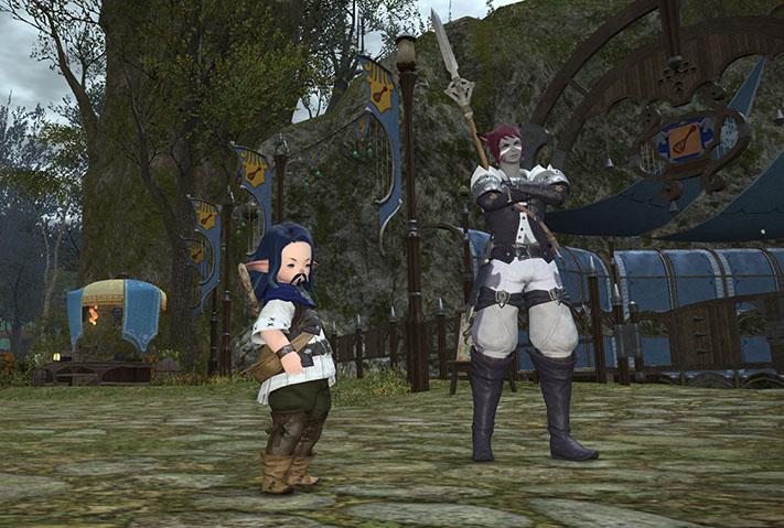 The Forgotten Bay and Final Fantasy XIV Kiboha10