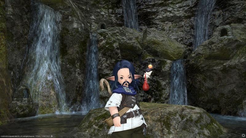 The Forgotten Bay and Final Fantasy XIV Kiboha11