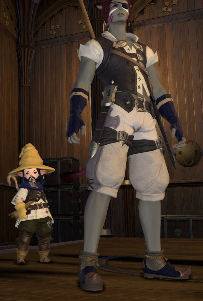 The Forgotten Bay and Final Fantasy XIV Kiboha12