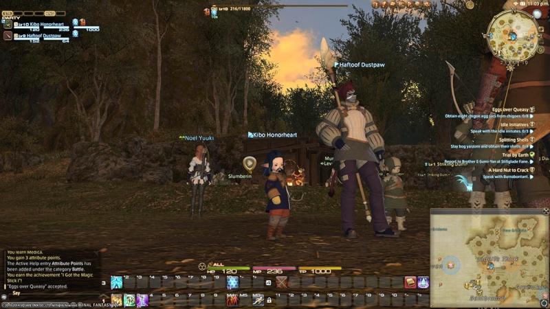 The Forgotten Bay and Final Fantasy XIV Kiboha14