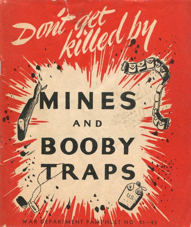 Les pièges en bambou Vietcong (Booby traps) partie 1 Mines_10