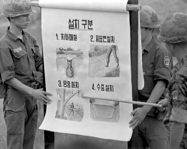 Les pièges en bambou Vietcong (Booby traps) partie 1 P2610