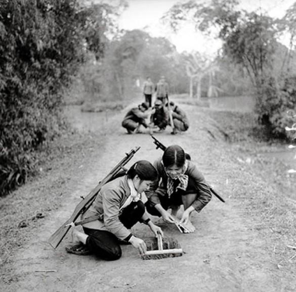 Les pièges en bambou Vietcong (Booby traps) partie 1 Young-10