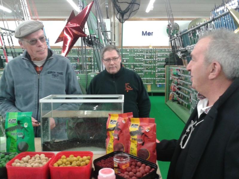 Léon hoogendijk chez Pacific Pêche Strasbourg 00310