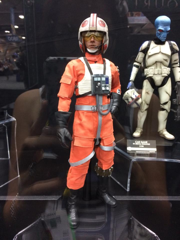 "STAR WARS: LUKE SKYWALKER "" Red Five X-Wing Pilot"" sixth scale figure Aaaa10"