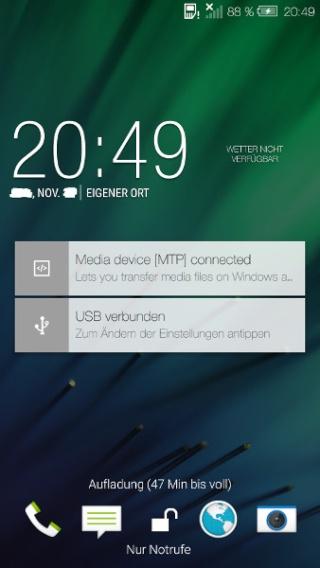 ANDROID 5 (Lollipop) et Sense 6 sur les HTC One M7 / M8 Aperçu Gsmare10