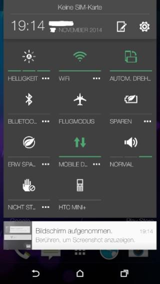 ANDROID 5 (Lollipop) et Sense 6 sur les HTC One M7 / M8 Aperçu Gsmare13