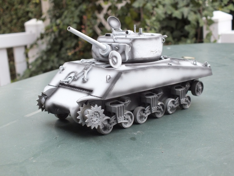 Sherman A3E2  Tamiya 1/35 et canon alu Rb models.  (Patine en cours) - Page 2 Dscf7218