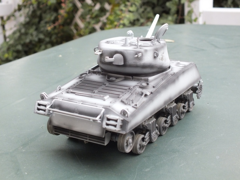 Sherman A3E2  Tamiya 1/35 et canon alu Rb models.  (Patine en cours) - Page 2 Dscf7219