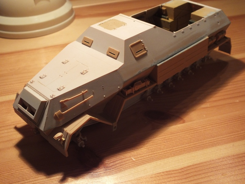 Sdkfz 8 Db 10 Gepanzerte 12 t(trumpeter 01584)  et 88mm Flak37 (Dragon 6287)   - Page 2 Dscf7223