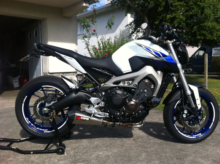 Ma MT 09 Factory line - ROSSI LIMITED Yamaha10