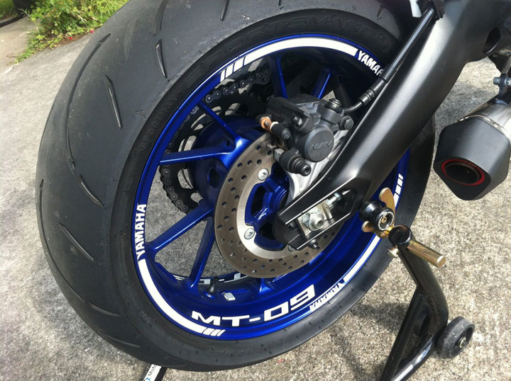 Ma MT 09 Factory line - ROSSI LIMITED Yamaha13