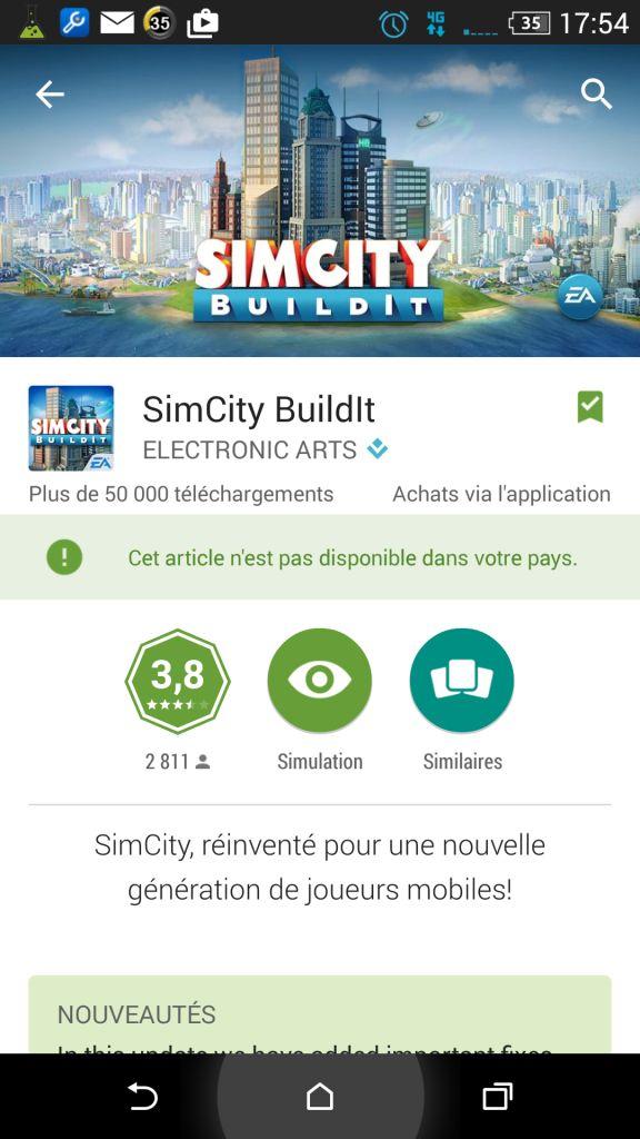 [JEU ANDROID - SIMCITY BUILDIT] Construisez et manager votre ville [Gratuit/achat In app] Screen10