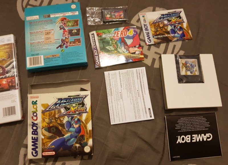 [Vends] Megaman gba, snow brothers  GB ,  game boy 20190330