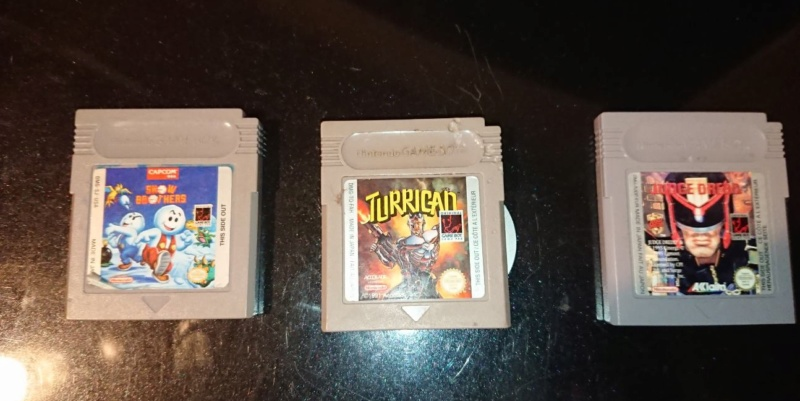 [Vends] Megaman gba, snow brothers  GB ,  game boy 20190341