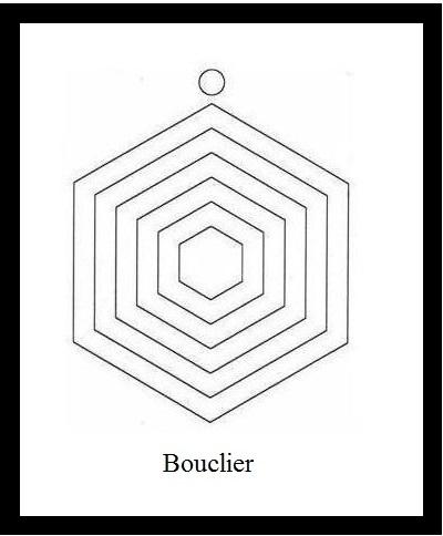 Bouclier RADIONIQUE de PROTECTION et SCAP(symbole compensateur d'André Philippe) Boucli10