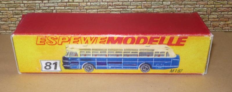 Ikarus 55 in rot/gelber Espewe-Verpackung  P1070811
