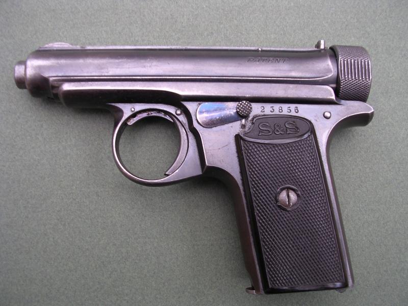 SAUER et SOHN 1913 ou 1919 calibre 6.35 Dscn0310