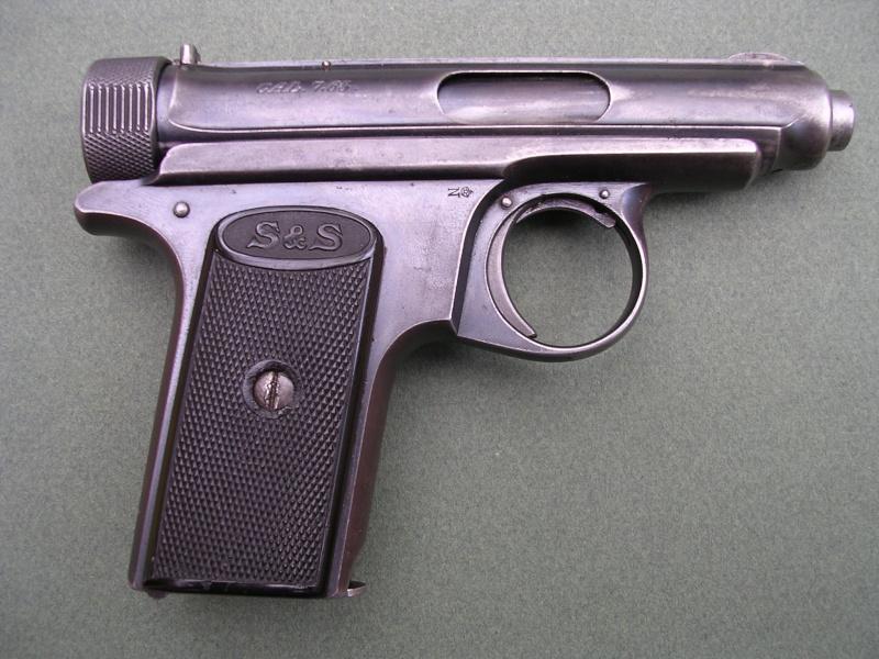 SAUER et SOHN 1913 ou 1919 calibre 6.35 Dscn0311