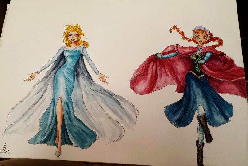 Dessins hors Lady Oscar Elsa_10