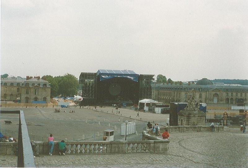 Pink Floyd à Versailles en 1988 Plarme10