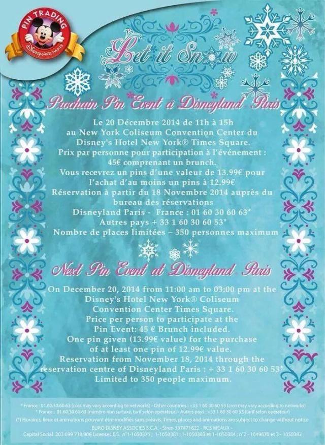 [Pin Trading Event] Let It Snow (20 décembre 2014) 10636110