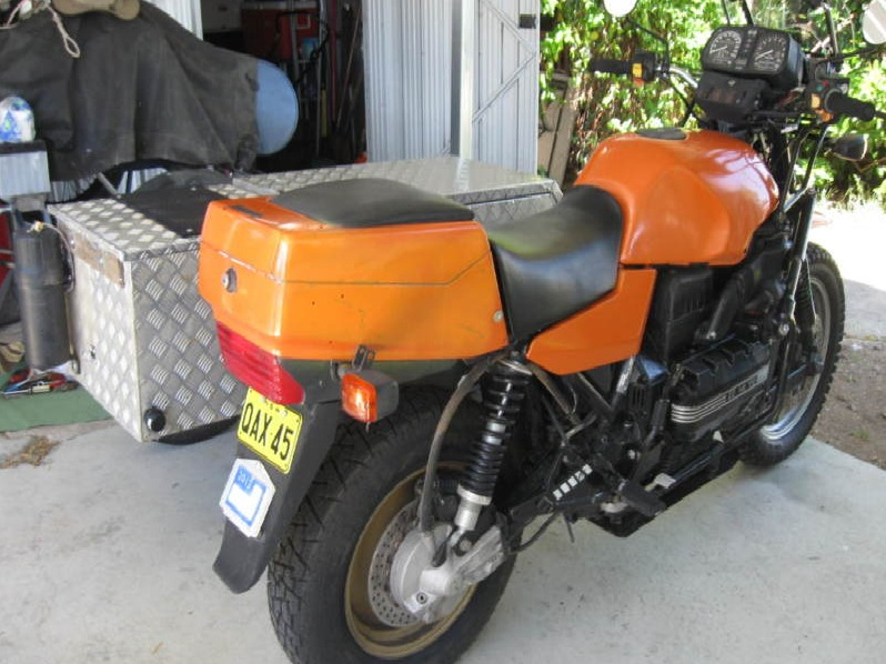 Heavy Duty Sidecar Shock - Ikon  Bmw_of10