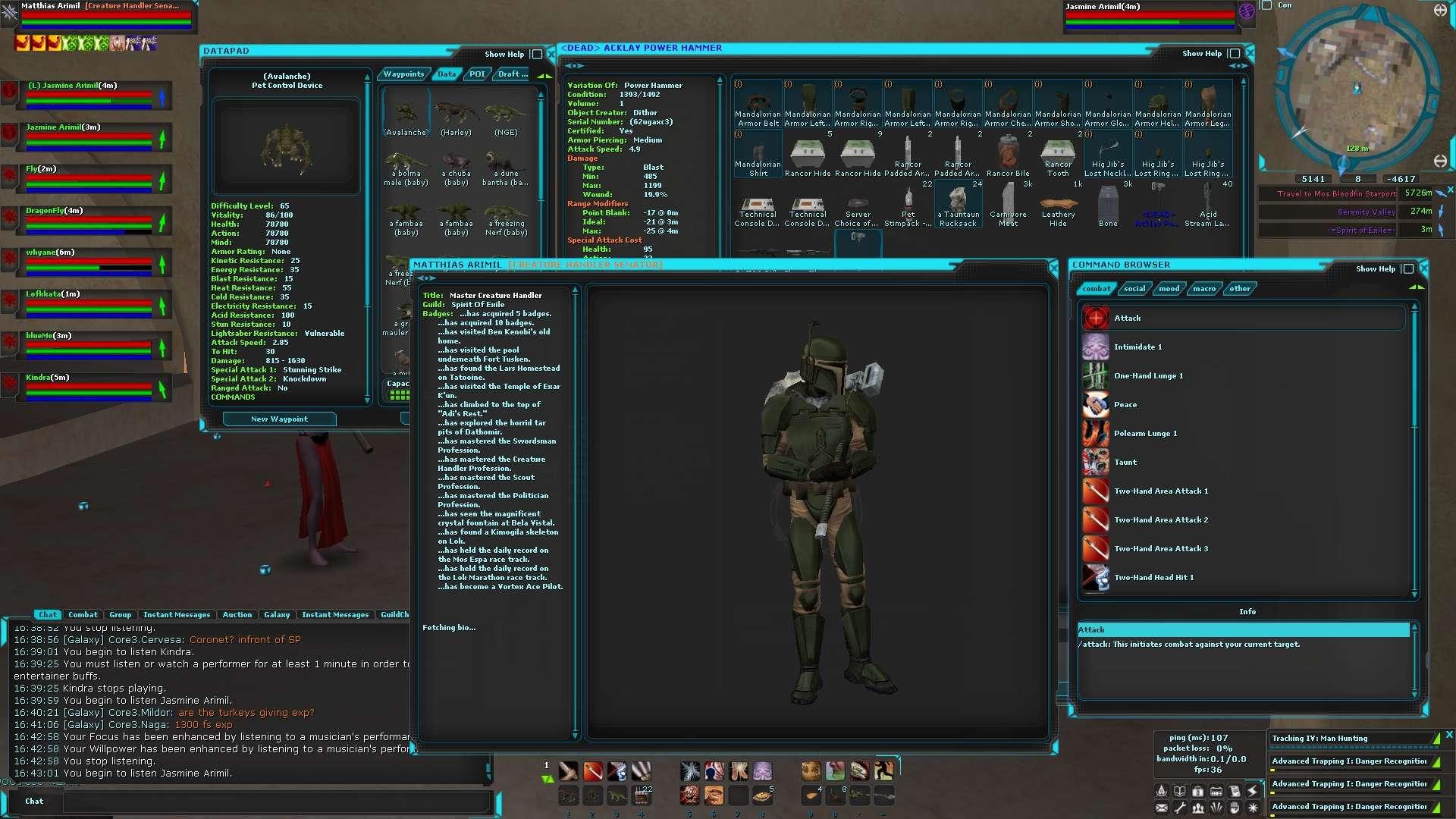 SWG Bloodfin Emu Screen10