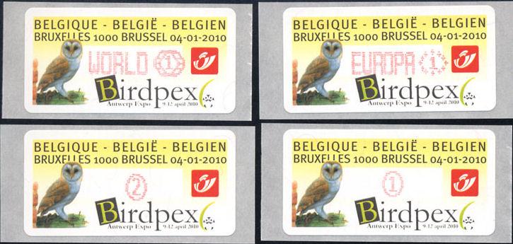 Automaten Marken Belgien Bild111